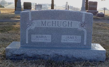 MCHUGH, MARIA - Dubuque County, Iowa | MARIA MCHUGH