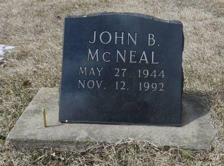 MCNEAL, JOHN B. - Dubuque County, Iowa | JOHN B. MCNEAL
