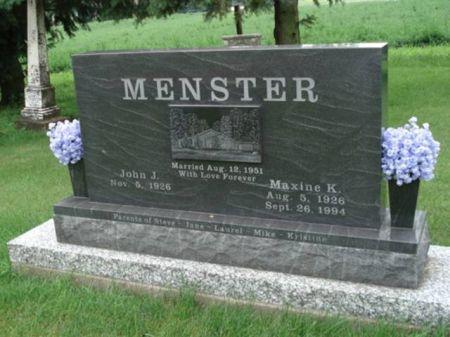 MENSTER, MAXINE K. - Dubuque County, Iowa | MAXINE K. MENSTER