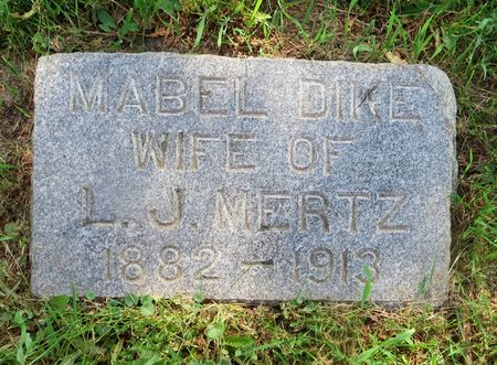 MERTZ, MABEL - Dubuque County, Iowa | MABEL MERTZ