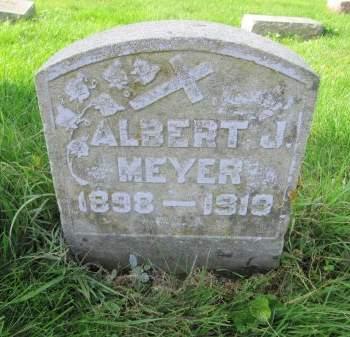 MEYER, ALBERT J. - Dubuque County, Iowa | ALBERT J. MEYER