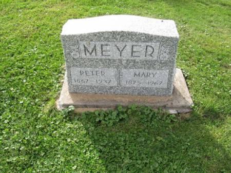 MEYER, PETER - Dubuque County, Iowa   PETER MEYER