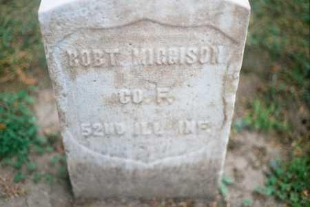 MIGGISON, ROBT - Dubuque County, Iowa | ROBT MIGGISON