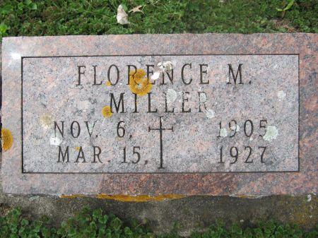 MILLDF, FLORENCE M. - Dubuque County, Iowa | FLORENCE M. MILLDF