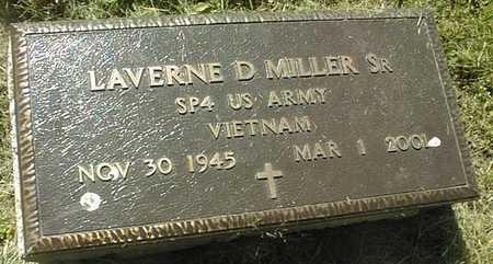 MILLER, LAVERNE D.,SR. - Dubuque County, Iowa   LAVERNE D.,SR. MILLER