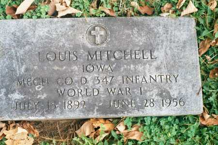 MITCHELL, LOUIS - Dubuque County, Iowa   LOUIS MITCHELL