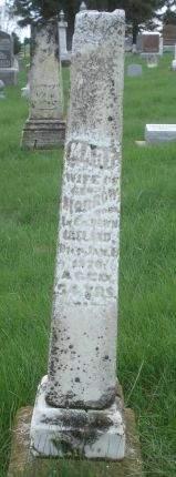MORROW, MARY - Dubuque County, Iowa   MARY MORROW