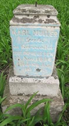 MULLER, KARL - Dubuque County, Iowa   KARL MULLER