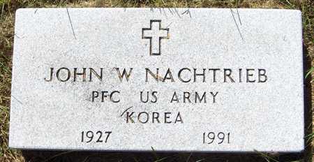 NACHTRIEB, JOHN W. - Dubuque County, Iowa | JOHN W. NACHTRIEB