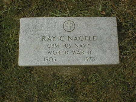 NAGELE, RAY C. - Dubuque County, Iowa | RAY C. NAGELE