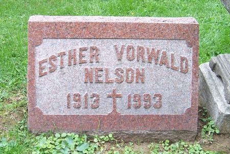VORWALD NELSON, ESTHER - Dubuque County, Iowa | ESTHER VORWALD NELSON