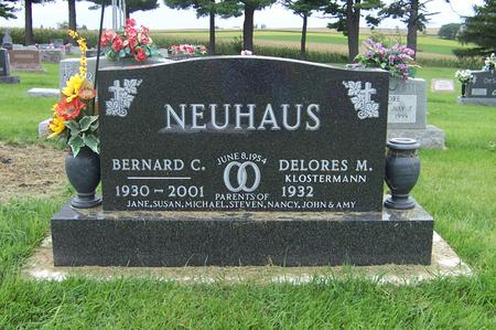 NEUHAUS, DELORES M. - Dubuque County, Iowa | DELORES M. NEUHAUS