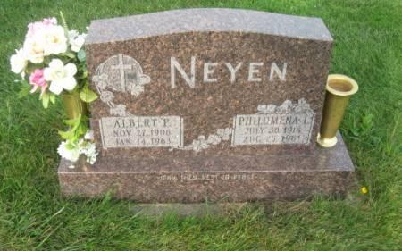 NEYEN, ALBERT P. - Dubuque County, Iowa   ALBERT P. NEYEN