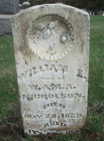 NICHOLSON, WILLIAM E. - Dubuque County, Iowa | WILLIAM E. NICHOLSON