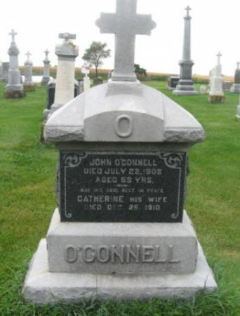 O'CONNELL, CATHERINE - Dubuque County, Iowa | CATHERINE O'CONNELL