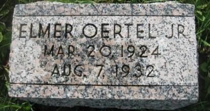 OERTEL, ELMER  JR. - Dubuque County, Iowa | ELMER  JR. OERTEL