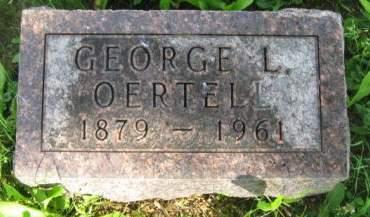 OERTEL, GEORGE L. - Dubuque County, Iowa | GEORGE L. OERTEL