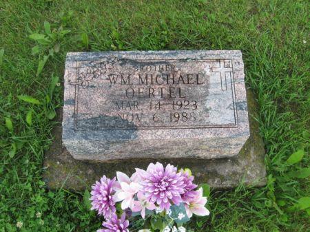 OERTEL, WM. MICHAEL - Dubuque County, Iowa | WM. MICHAEL OERTEL