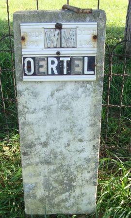 OERTEL, WILLIAM - Dubuque County, Iowa   WILLIAM OERTEL
