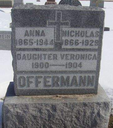 OFFERMANN, ANNA - Dubuque County, Iowa | ANNA OFFERMANN
