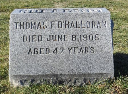O'HALLORAN, THOMAS F. - Dubuque County, Iowa | THOMAS F. O'HALLORAN