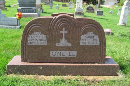 O'NEILL, CORNELIUS - Dubuque County, Iowa | CORNELIUS O'NEILL