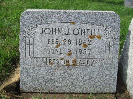 O'NEILL, JOHN J. - Dubuque County, Iowa   JOHN J. O'NEILL