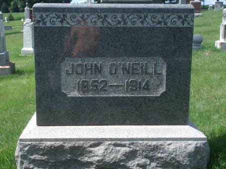 O'NEILL, JOHN - Dubuque County, Iowa | JOHN O'NEILL
