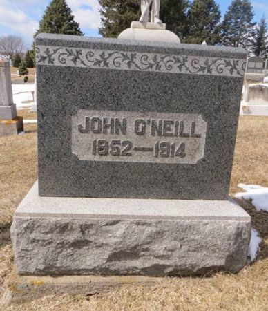 O'NEILL, JOHN - Dubuque County, Iowa | JOHN O'NEILL