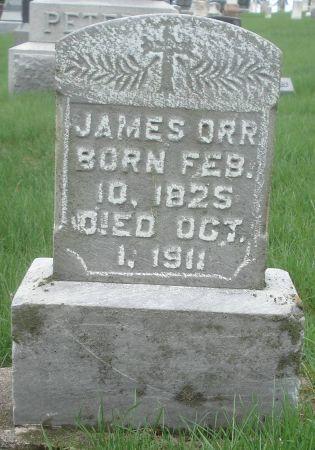 ORR, JAMES - Dubuque County, Iowa | JAMES ORR