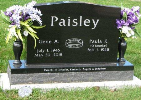 PAISLEY, GENE A. - Dubuque County, Iowa | GENE A. PAISLEY