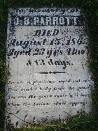 PARROTT, J. B. - Dubuque County, Iowa | J. B. PARROTT