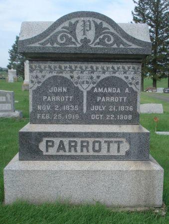 PARROTT, JOHN - Dubuque County, Iowa | JOHN PARROTT