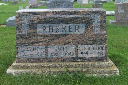 PASKER, CLEMENTINE - Dubuque County, Iowa | CLEMENTINE PASKER