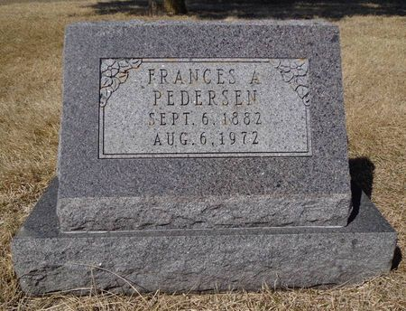 PEDERSEN, FRANCES A. - Dubuque County, Iowa | FRANCES A. PEDERSEN