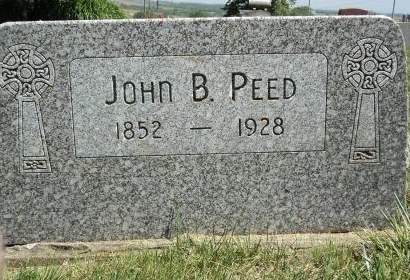 PEED, JOHN B. - Dubuque County, Iowa   JOHN B. PEED