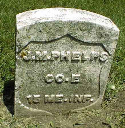 PHELPS, J.M. - Dubuque County, Iowa   J.M. PHELPS