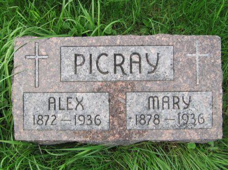 PICRAY, MARY - Dubuque County, Iowa   MARY PICRAY