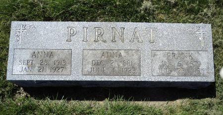 PIRNAT, ANNA - Dubuque County, Iowa   ANNA PIRNAT