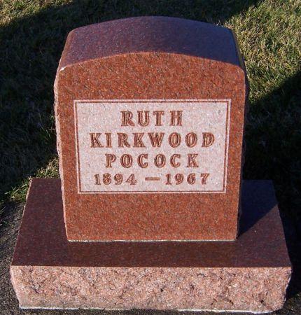 KIRKWOOD POCOCK, RUTH - Dubuque County, Iowa | RUTH KIRKWOOD POCOCK