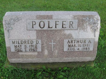 POLFER, MILDRED D. - Dubuque County, Iowa | MILDRED D. POLFER