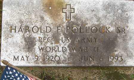POLLOCK, HAROLD F.,SR - Dubuque County, Iowa | HAROLD F.,SR POLLOCK