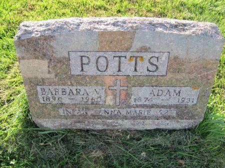 POTTS, ADAM - Dubuque County, Iowa   ADAM POTTS