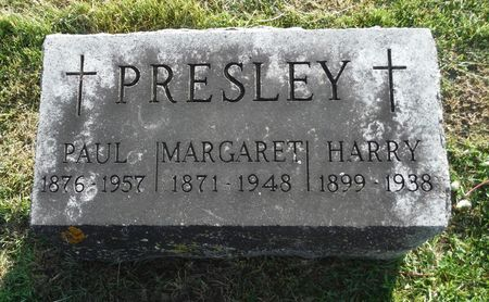 MCNAMARA PRESLEY, MARGARET - Dubuque County, Iowa | MARGARET MCNAMARA PRESLEY