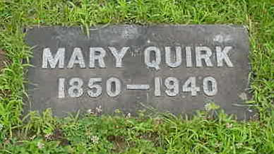 QUIRK, MARY T. - Dubuque County, Iowa | MARY T. QUIRK