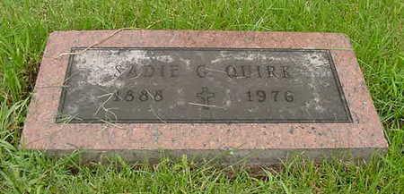 QUIRK, SADIE G. - Dubuque County, Iowa | SADIE G. QUIRK