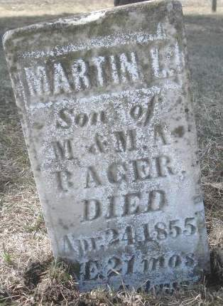 RAGER, MARTIN L. - Dubuque County, Iowa | MARTIN L. RAGER