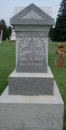 REES, MINNIE - Dubuque County, Iowa   MINNIE REES