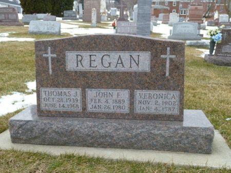 REGAN, VERONICA - Dubuque County, Iowa | VERONICA REGAN