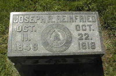 REINFRIED, JOSEPH R. - Dubuque County, Iowa   JOSEPH R. REINFRIED